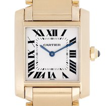 Cartier Tank Francaise Midsize 18k Yellow Gold Men's/Ladie...