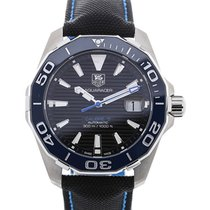 TAG Heuer Aquaracer 41 Automatic Blue Bezel Calibre 5