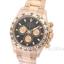 "Rolex Cosmograph Daytona Black Dial Pink Gold 40MM ""Random..."