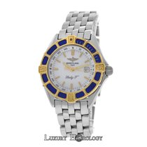 Breitling Authentic Ladies Lady J D52065 Date Steel & 18K