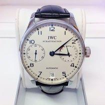 IWC Portuguese IW500107 7 Days Power Reserve - Serviced By IWC
