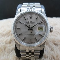 Rolex DATEJUST 16030 SS with Original Silver Dial and Solid...