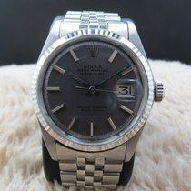 Rolex DATEJUST 1601 SS ORIGINAL Purple (no lume) Dial