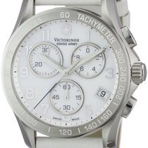 Victorinox Swiss Army Chrono Classic Steel Womens Strap Watch...