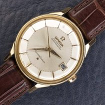 Omega constellation piepan solid 18k pink gold