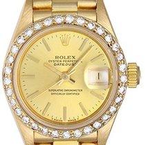 ロレックス (Rolex) Ladies President 18k Gold & Diamond Watch 69178