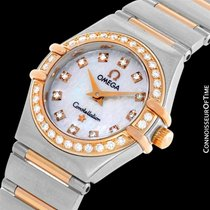 Omega Ladies Constellation 95 My Choice Mini Watch - 18K Rose...