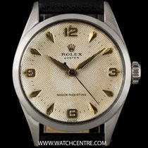 Rolex S/S Rare Quadrante Dial Oyster Shock Resisting Vintage 6444