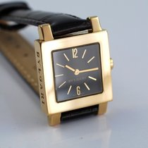 Bulgari Squadra Quadrato 22x22mm mass. 18 K Gelb Gold