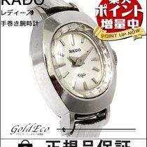라도 (Rado) 【ラドー】アンティーク  手巻き 腕時計シルバー文字盤 SS/K14WGレディース ホワイトゴールド【中古】