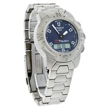 Tissot T-Touch Mens Analog Digital Titanium Watch T33.7.588.41