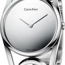 ck Calvin Klein round K5U2S148 Damenarmbanduhr Swiss Made