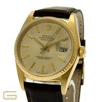 Rolex Datejust 18K.Gold Ref.16018