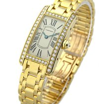 Cartier WB7072K2 Ladys Size - Tank Americaine in Yellow Gold -...