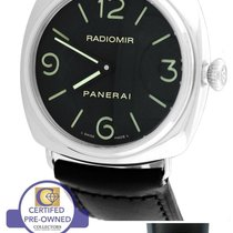 Panerai PAM 210 N Radiomir Base Black Automatic 45mm Watch...
