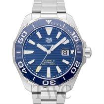 タグ・ホイヤー (TAG Heuer) Calibre 5 Automatic Watch 300 M Blue Steel...