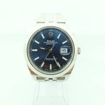 Rolex Datejust 41 blue Dial LC122 with Jubilee Like New