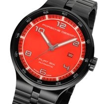 Porsche Design Automatic Herrenuhr rot P'6350 PD6350.43.74...