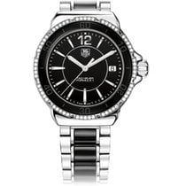 TAG Heuer FORMULA 1 LADY QUARTZ BLACK DIAL WITH BLACK CERAMIC
