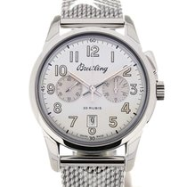 Breitling Transocean Chronograph 1915 43 Steel L.E.
