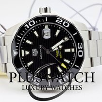 TAG Heuer Aquaracer Calibre 5 Automatic 43mm Black Dial G