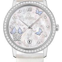 Omega De Ville Prestige Co Axial Butterfly