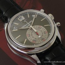 Patek Philippe : First Series Grey Dial Platinum Annual...