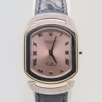 Rolex Cellini Cellissima 18k White Gold Pink Dial Factory...