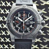 Breitling Super Avenger Blacksteel M13370 BOX & PAPIERE 2009