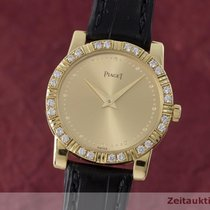 Piaget Lady Dancer 18k (0,750) Gold Damenuhr Ref. 80464 Diamanten