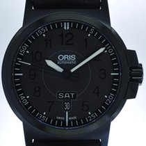 Oris Mans Automatic Pilots Wristwatch BC3 Advanced Day Date ,
