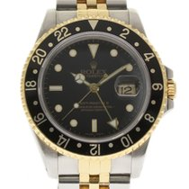 Rolex GMT Master II 16713 40mm Steel Yellow Gold Box/Paper #172-3