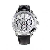 Alpina Manufacture 4 Flyback Chronograph Silvered Sunray Dial