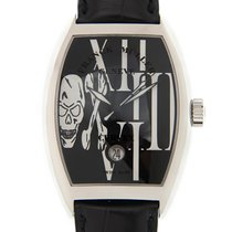 Franck Muller Cintree Curvex Stainless Steel Black Automatic...