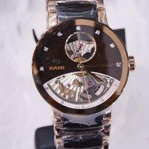 Rado Centrix Automatic Diamonds Open Heart Rose  & Brown 33mm
