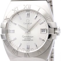 Omega Polished Omega Constellation Double Eagle Automatic Mens...