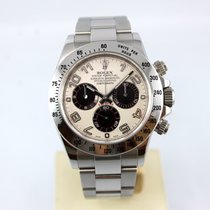 "Rolex Daytona 116520 Panda Racing Dial ""Black/White..."