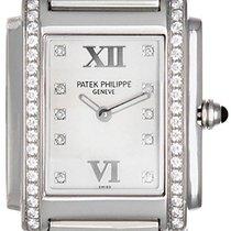 Patek Philippe Ladies Stainless Steel Diamond  Twenty-4 Watch...
