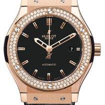 Hublot Classic Fusion Gold Diamonds Watch