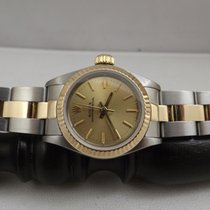 Rolex Lady Oyster Perpetual ref. 67193 acciaio oro 18 kt