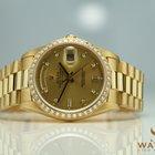 Rolex Day-Date Ref: 18238 750/18K Original Rolex Lünette Diamond