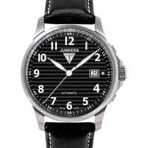 Junkers Tante Ju Auto Wind Watch 100m Wr Saphhire Crystal 40mm...