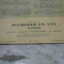 Rolex rare 1955 warranty booklet for sub gmt turnograph...