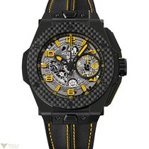 ウブロ (Hublot) Big Bang 45mm Ferrari Yellow Ceramic Men`s Watch