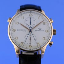 IWC Portuguese Split Second Chronograph Rose Gold Box and Papers