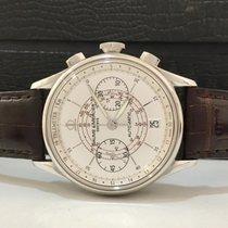 Baume & Mercier Capeland Math Chronograph White Dial Completo