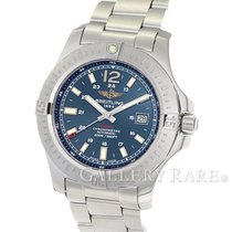 Breitling Colt Automatic Blue Dial Stainless Steel 44MM