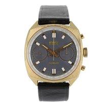 BWC-Swiss Vintage Chronograph Gold Landeron 248 | Original Box...