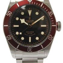 Tudor Heritage Black Bay Red Bezel Steel Bracelet Automatic...