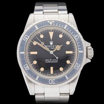 Rolex Submariner Serif Dial Stainless Steel Gents 5513 - W4135
